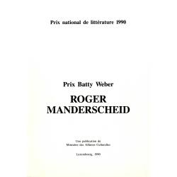 Prix Batty Weber: Roger...