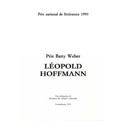 Prix Batty Weber: Léopold...