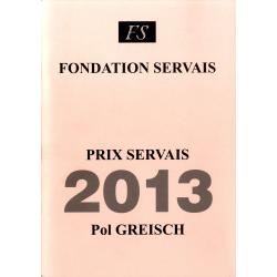 Prix Servais 2013 Pol Greisch