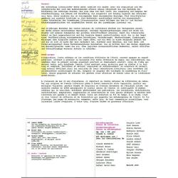 Korrekturspuren Traces de correction Textmetamorphosen Textes en métamorphose