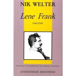 WELTER, Nik: Lene Frank (Bd.3)