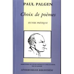 PALGEN, Paul: Choix de...