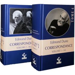 DUNE, Edmond: Correspondance