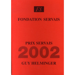 Prix Servais 2002 Guy...
