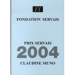 Prix Servais 2004 Claudine...