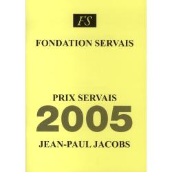 Prix Servais 2005 Jean-Paul...