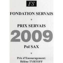 Prix Servais 2009 Pol Sax