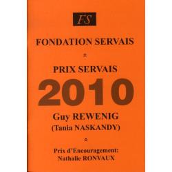 Prix Servais 2010 Guy Rewenig