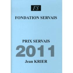 Prix Servais 2011 Jean Krier