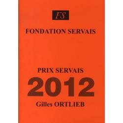 Prix Servais 2012 Gilles...