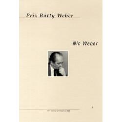 Prix Batty Weber: Nic Weber