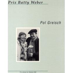 Prix Batty Weber: Pol Greisch